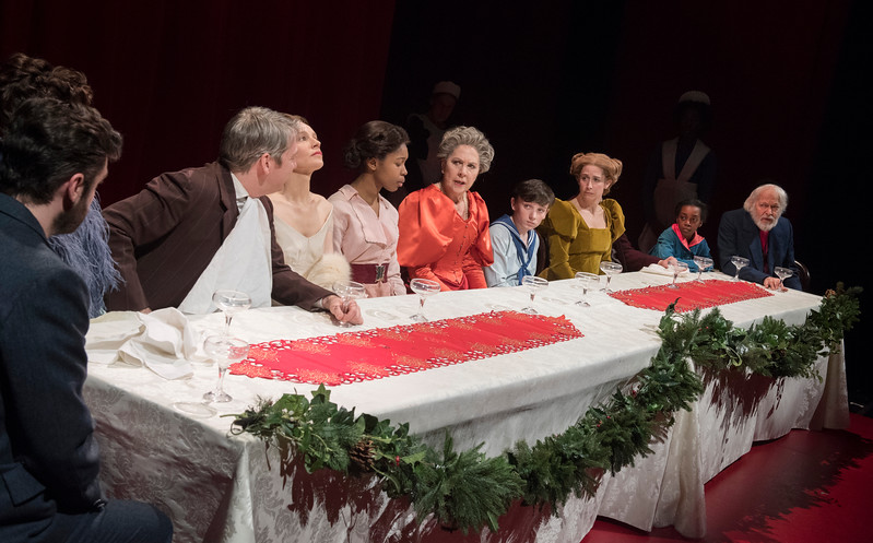 'Fanny and Alexander' Play performed at the Old Vic Theatre, London, UK