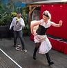 'Fanny and Stella' Musical performed at the Eagle Pub, Kennington, London, UK