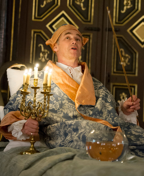 'Farinelli amd the King' Play by Claire van Kampen performed in the Sam Wanamaker Theatre at Shakespeare's Globe Theatre, London,England,UK