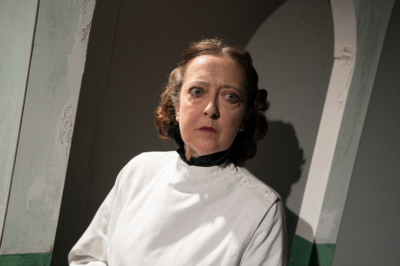 'Fast' Play performed at the Park Theatre, London, UK