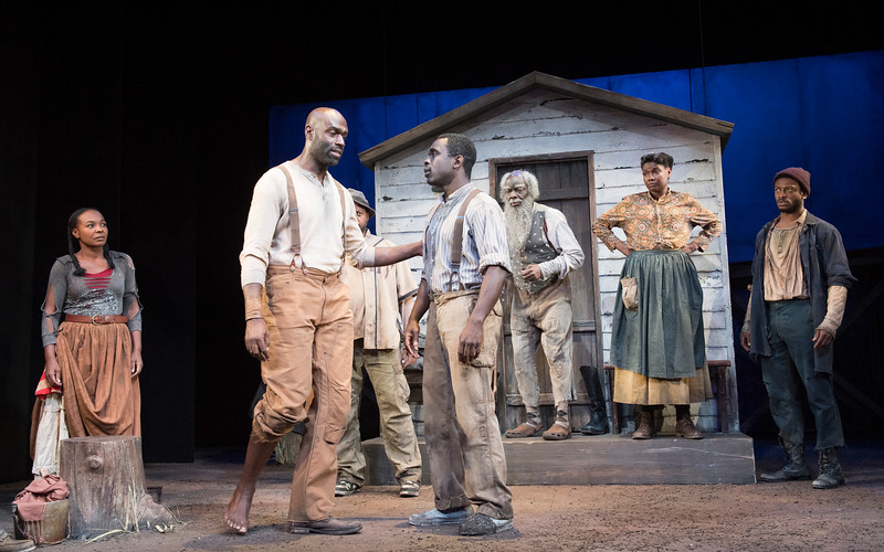 'Father Comes Home From The Wars' Play by Suzan-Lori Parks performed at the Royal Court Theatre, London,UK