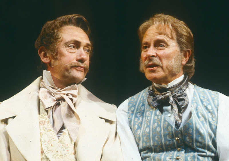 'Fathers and Sons' Play performed at the National Theatre, London, UK 1987