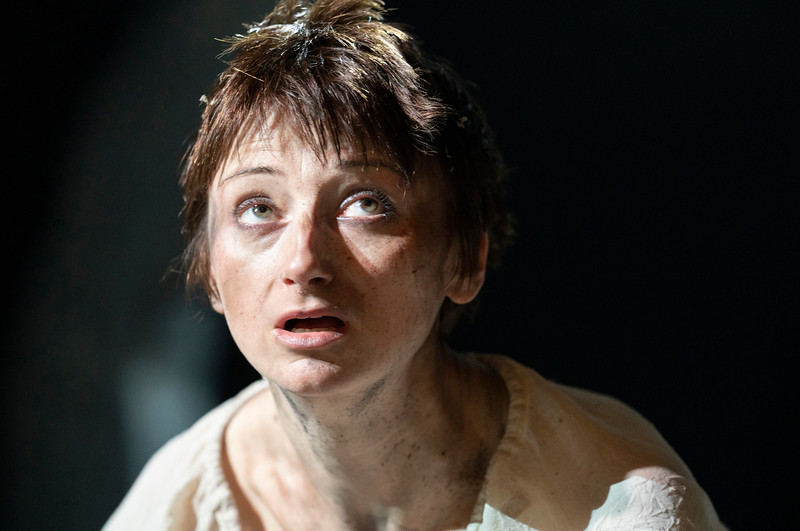 'Faustus: That Damned Woman' lay performed at the Lyric Theatre, Hammersmith, London, UK