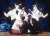 'Five Guys Named Mo' Musical performed at the Albery Theatre, London, UK 1995