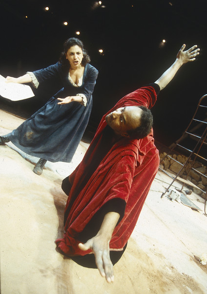 'Foe' Play performed by Theatre de Complicite Theatre Company, London, UK 1996