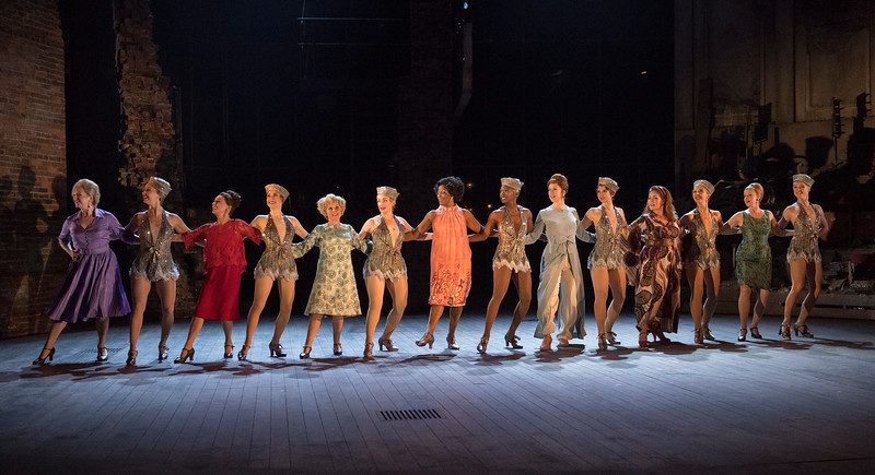 'Follies' Musical performed in the Olivier Theatre, at the Royal National Theatre, London, UK