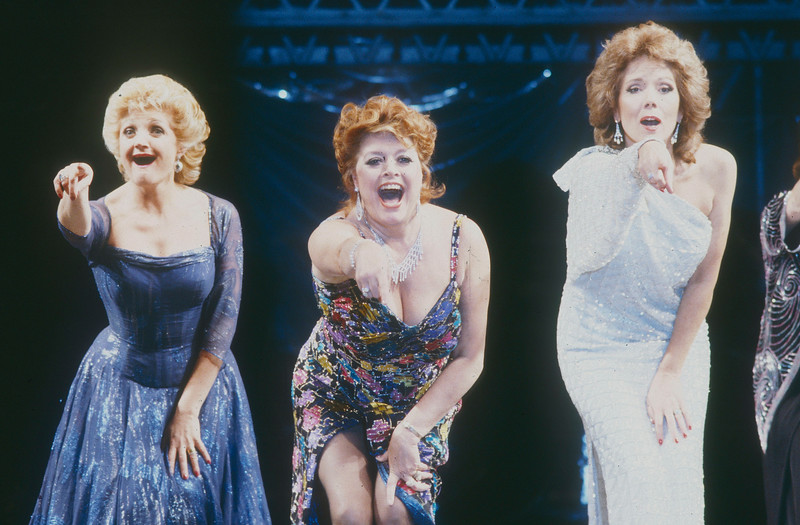 'Follies' Musical performed at the Shaftsbury Theatre, London, UK 1988