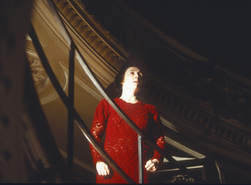 'Footfalls' Play performed in the Garridk Theatre, London, UK 1994