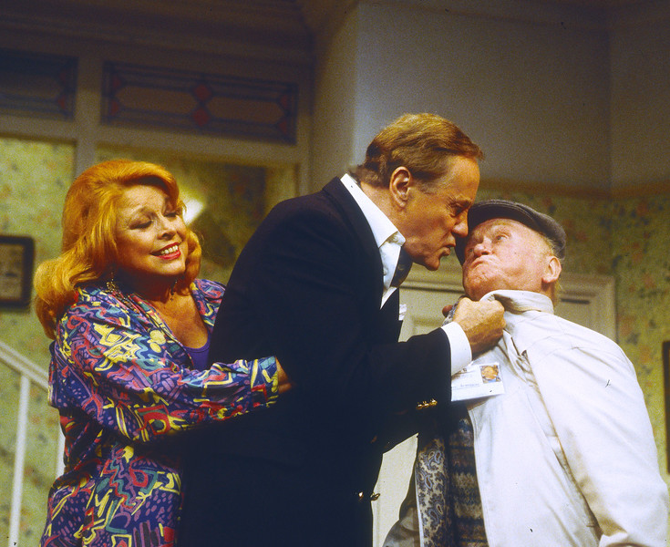 'Funny Money' Play performed at the Playhouse Theatre, London, UK 1995