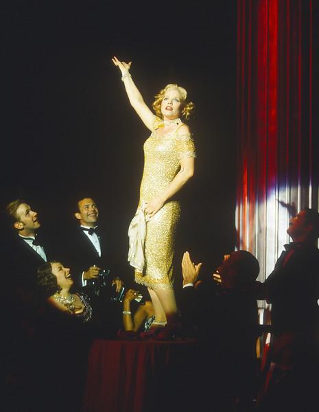 'Gentlemen Prefer Blondes' Musical performed at the Open Air Theatre, Regent's Park, London, UK 1998