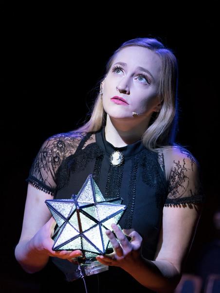 'Ghost Quartet' Cbaret how performed at the Boulevard Theatre, London, UK
