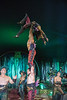 The Hooley. Performed by Giffords Circus, Stroud, Gloucestershire, UK
