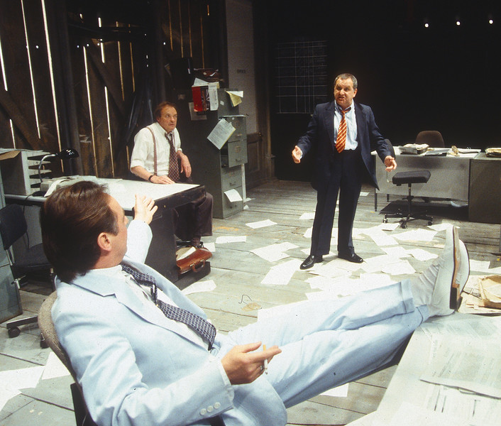 'Glengarry Glen Ross' Play performed in the Donmar Theatre, London, UK 1994