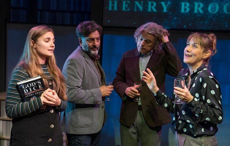 'God's Dice' Play by David Baddiel performed at the Soho Theatre, London, UK