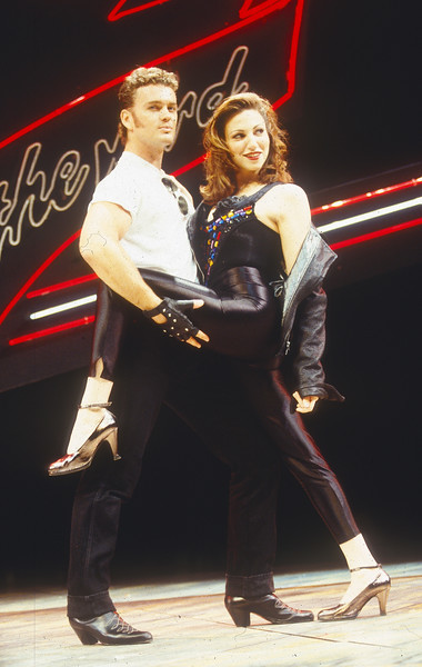 'Grease' Musical performed in the Dominion Theatre, London, UK 1993