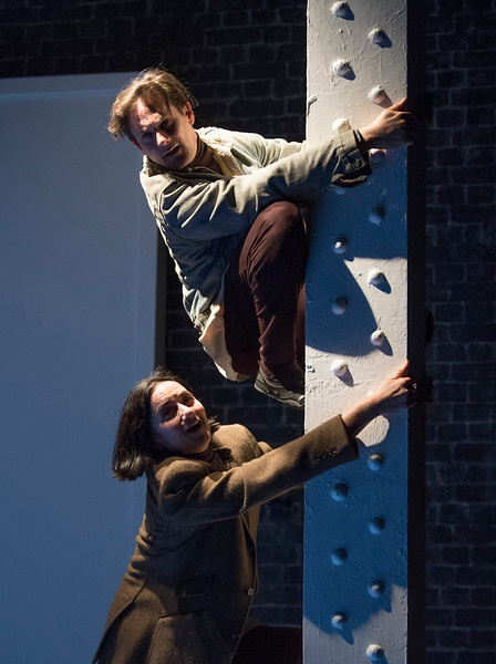 'Great Apes' Play by Will Self performed at the Arcola Theatre, London, UK