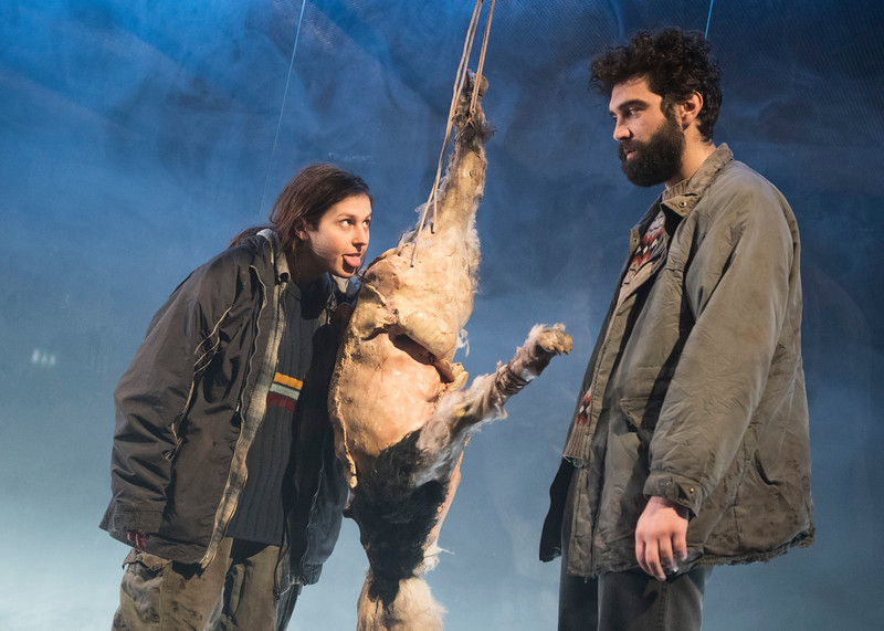 'Gundog' Play performed at the Royal Court Theatre Upstairs, London UK