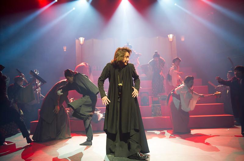 'Hamlet' Pla performed by Ninagawa Company at the Barbican Theatre