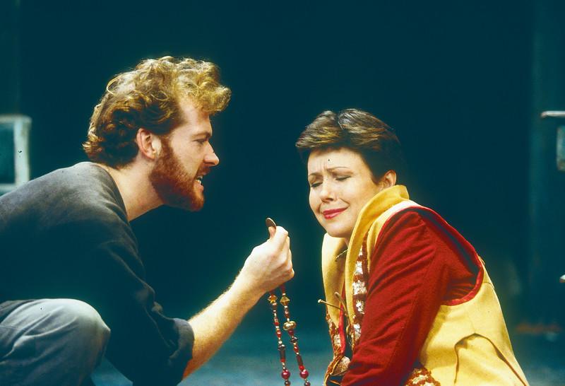 'Hamlet' Play performed at Birmingham Old Repertory Theatre, UK 1994