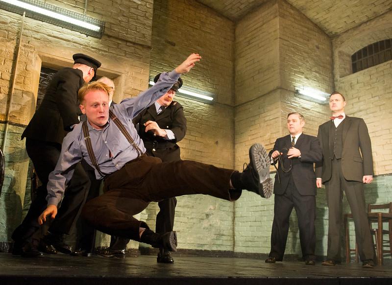 'Hangmen' Play performed at Wyndham's Theatre, London, UK