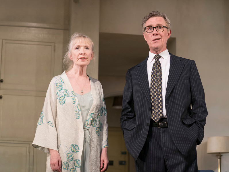 'Hansard' Play by Simon Woods performed in the Lyttelton Theatre, Royal National Theatre, London, UK