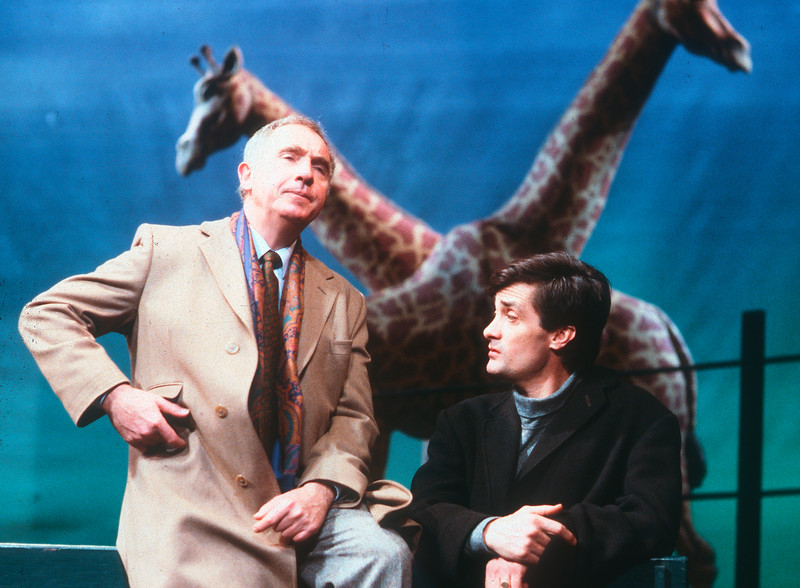 'Hapgood' Play by Tom Stoppard performed at the Aldwych Theatre, London, UK 1988