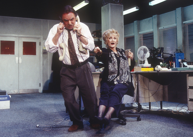 'Harry and Me' Play performed at the Royal Court Theatre, London, UK 1996