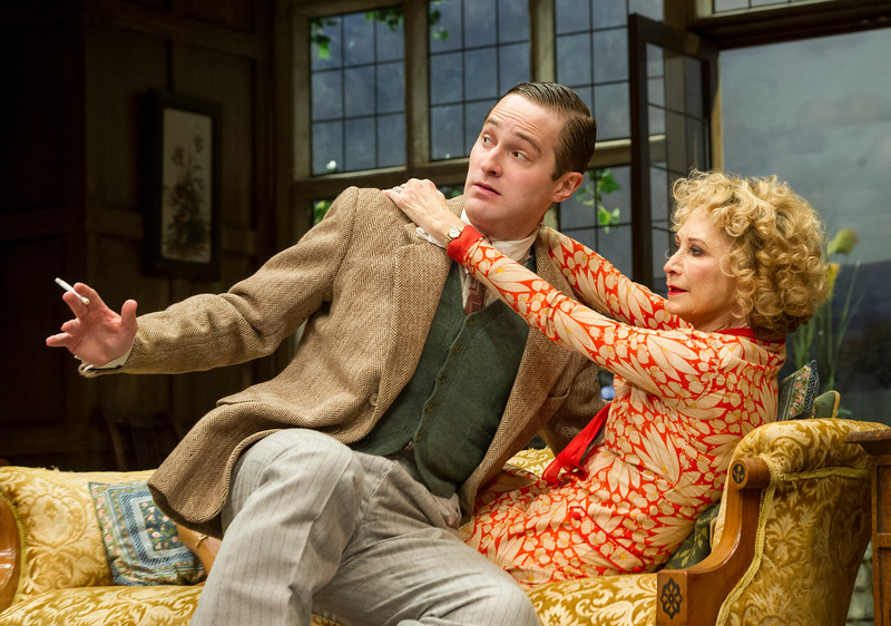'Hay Fever' Play performed at the Duke of Yorks Theatre, London, UK