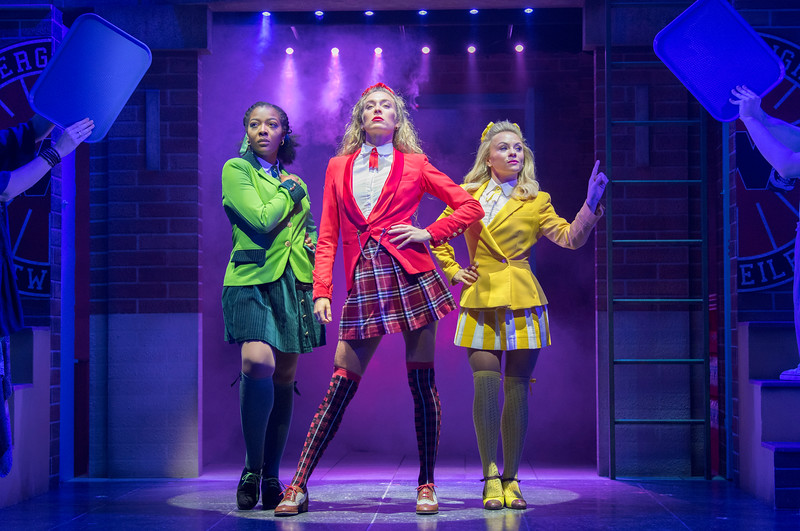 'Heathers the Musical' Musical performed at the Theatre Royal, Haymarket, London, UK