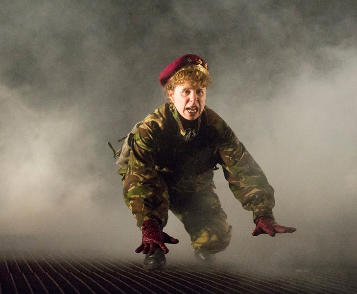 'Henry V' Play performed at the Open Air Theatre, Regent's Park, London, UK