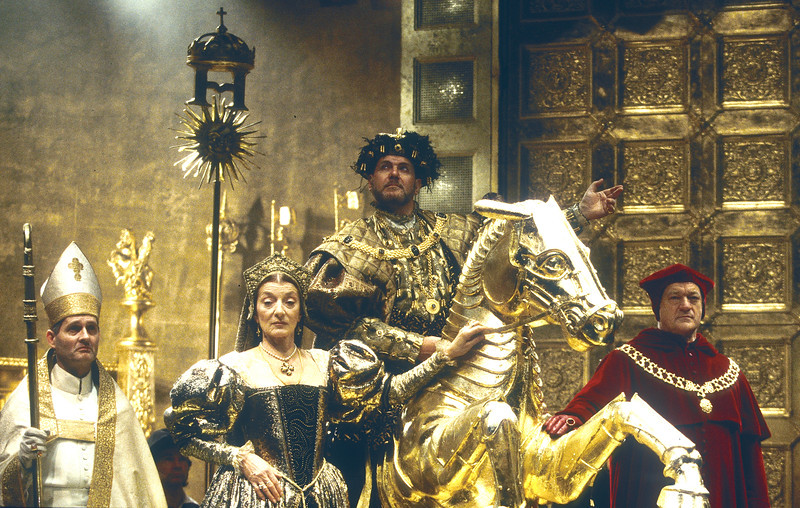 'Henry VIII' Play performed by the Royal Shakespeare Company, UK 1996