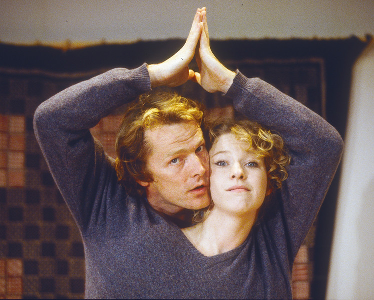 'Here' Play performed in the Donmar Theatre, London, UK 1993