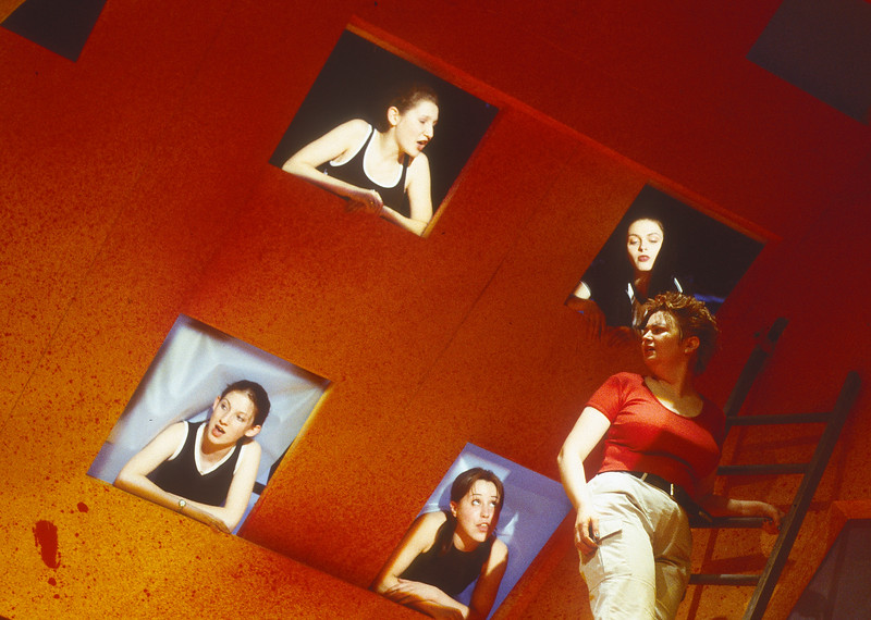 'Hey Persephone' Play performed at the Almeida Theatre, London, UK 1998