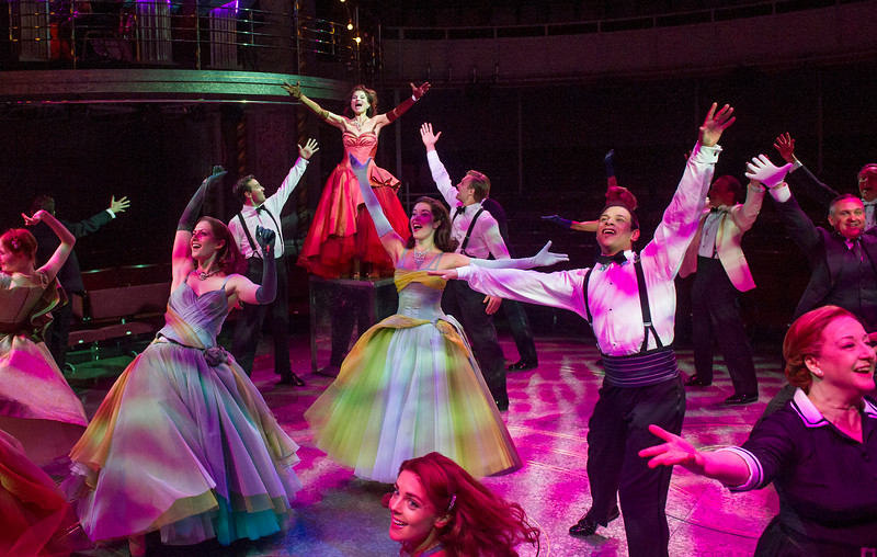 'High Society' Musical performed at the Old Vic Theatre, London, UK