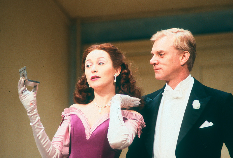 'Holiday' Play performed at the Old Vic Theatre, London, UK 1987