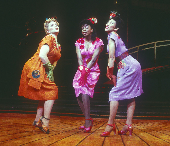 'Hot Mikado' Musical performed in Queen's Theatre, London, UK 1995