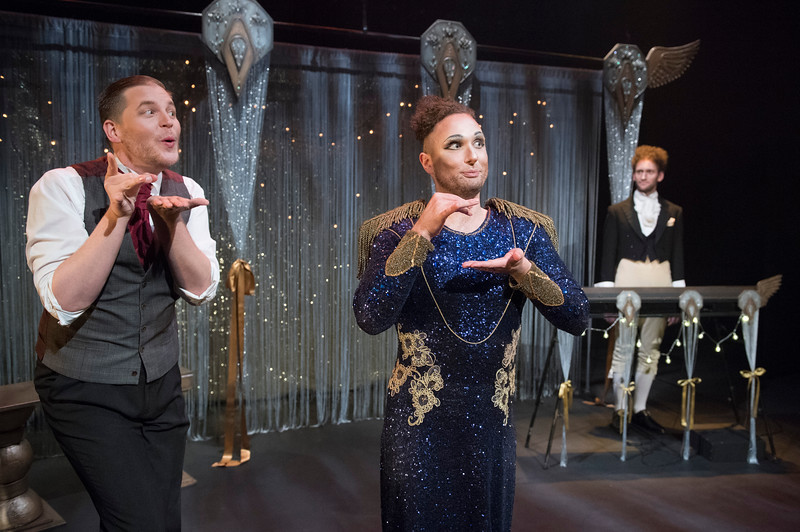 'How to Win Against History' Play performed in the Maria Theatre, Young Vic Theatre, London, UK
