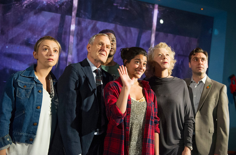 'Human Animals' Play by Stef Smith performed at the Royal Court Theatre Upstairs, London, UK