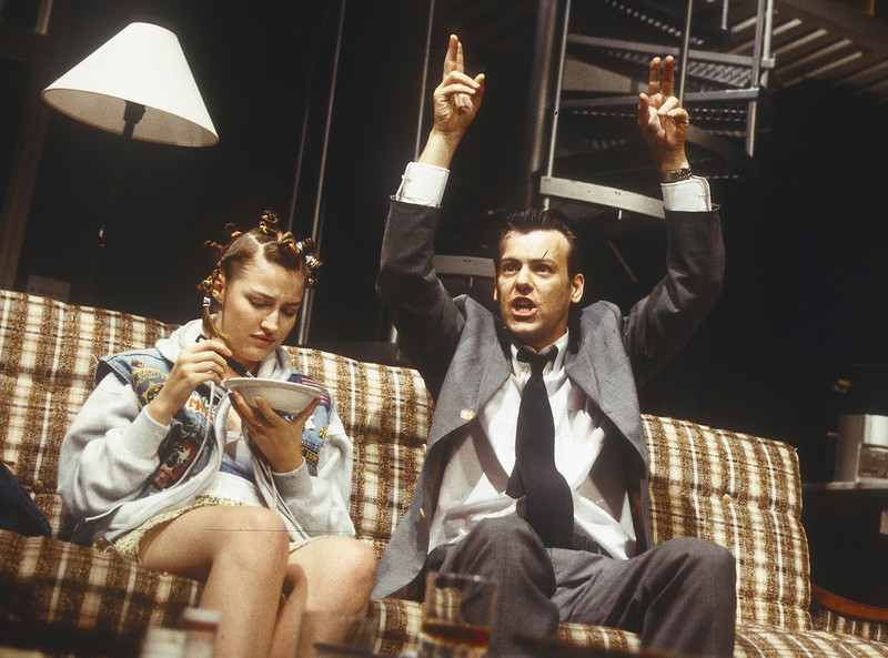 'Hurlyburly' Play performed at the Old Vic Theatre, London, UK 1997