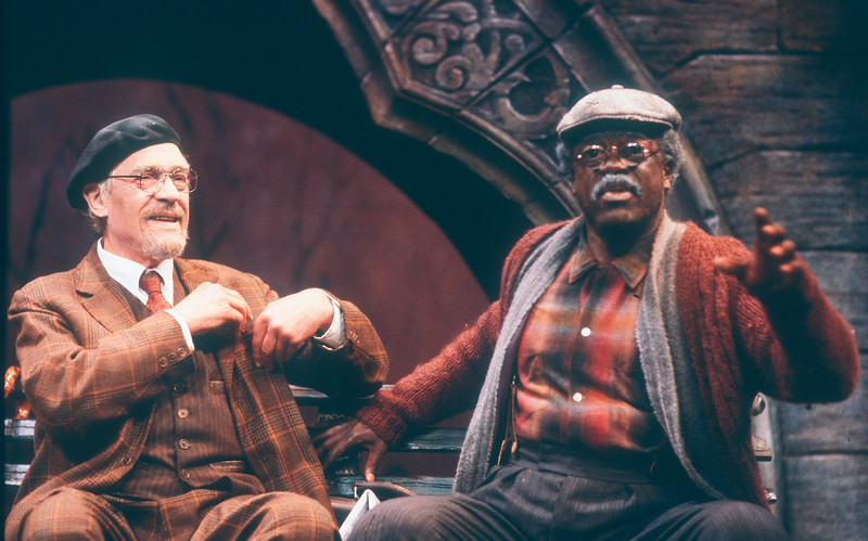 'I'm Not Rappaport' Play performed at the Apollo Theatre, London, UK 1986