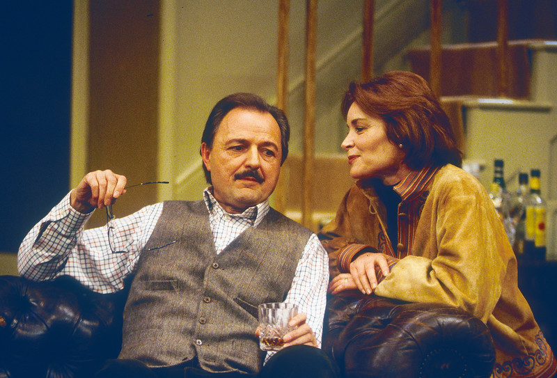 'In Praise of Love' Play performed in the Apollo Theatre, London, UK 1995