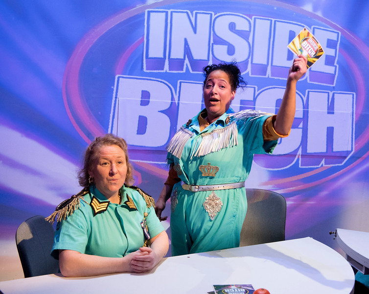 'Inside Bitch' Play performed at the Royal Court Theatre Upstairs, London, UK