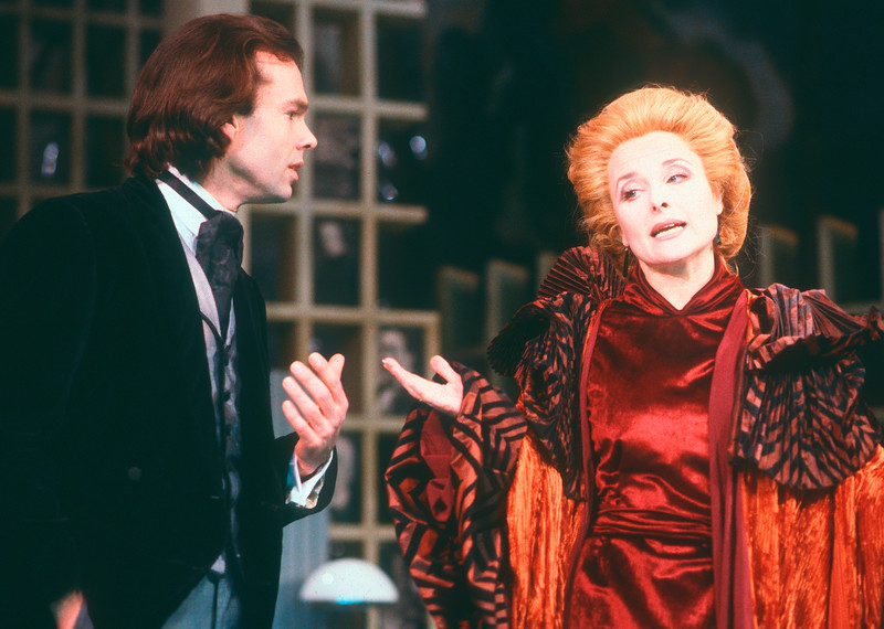 'Intermezzo' Play performed at Greenwich Theatre, London, UK 1984