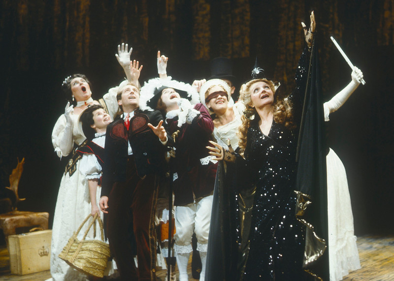 'Into the Woods' Musical Performed at the Phoenix Theatre, London, UK 1990