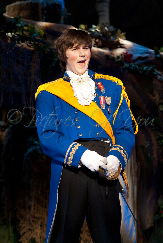 Rapunzel's Prince played by Jacob Shipley