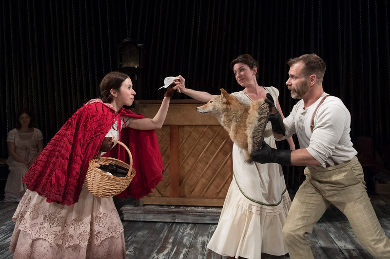 'Into the Woods' Musical by Stephen Sondheim performed at the Menier Chocolate Factory Theatre, London, UK
