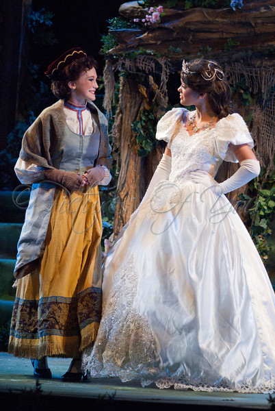 Baker's Wife played by Alison Lehane<br /> Cinderella played by Kelly Swint