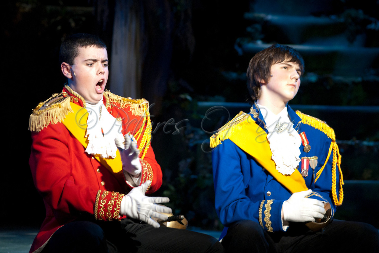 Cinderella's Prince played by Daniel Mosher<br /> Rapunzel's Prince played by Jacob Shipley