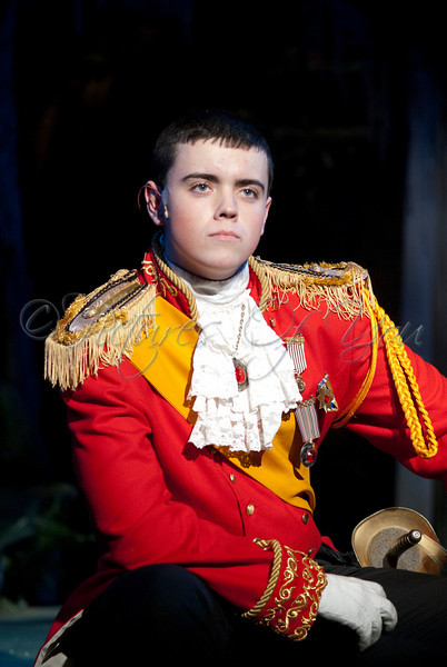 Cinderella's Prince played by Daniel Mosher