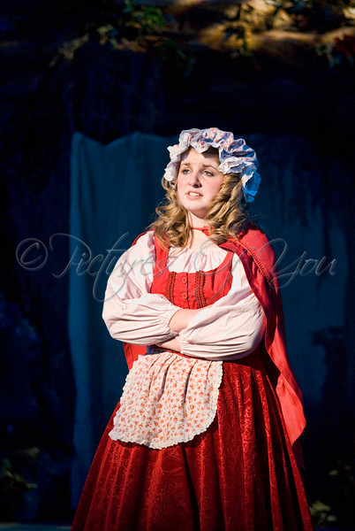 Little Red Riding Hood played by Courtney Kerin